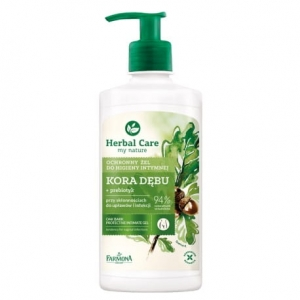 HERBAL CARE EMULSJA DO HIGIENY INTYMNEJ 330ML KORA DĘBU