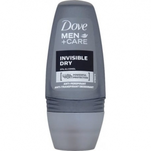 DOVE MEN DEO ROLL-ON 50ML INVISIBLE DRY
