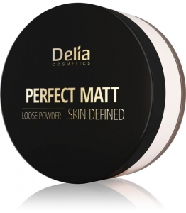 DELIA PUDER SYPKI PERFECT MATT 42 TRANSPARENTNY