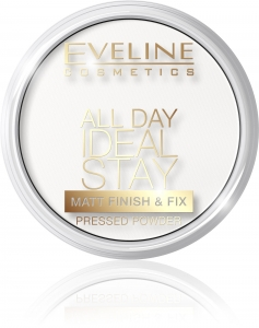 EVELINE MATUJĄCO UTRWALAJACY PUDER ALL DAY WHITE 60
