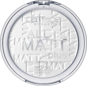 CATRICE PUDER MATUJĄCY ALL MATT PLUS SHINE CONTROL POWDER 001