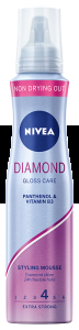 NIVEA PIANKA DO WŁOSÓW 150ML DIAMOND GLOSS