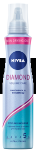 NIVEA PIANKA DO WŁOSÓW 150ML DIAMOND VOLUME CARE